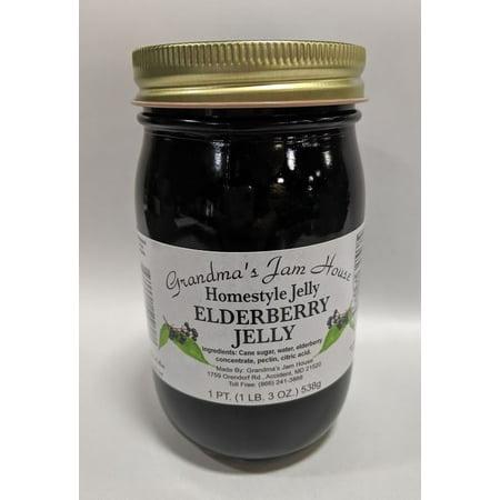 Grandma's Elderberry Jelly - Purple Jelly