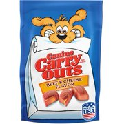 Canine Carry Outs Beef & Cheese Flavor Dog Snacks, 50-Ounce