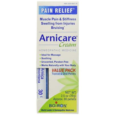Boiron - Crème Arnica Value Pack Crème et Arnica 30C, 2,5 oz