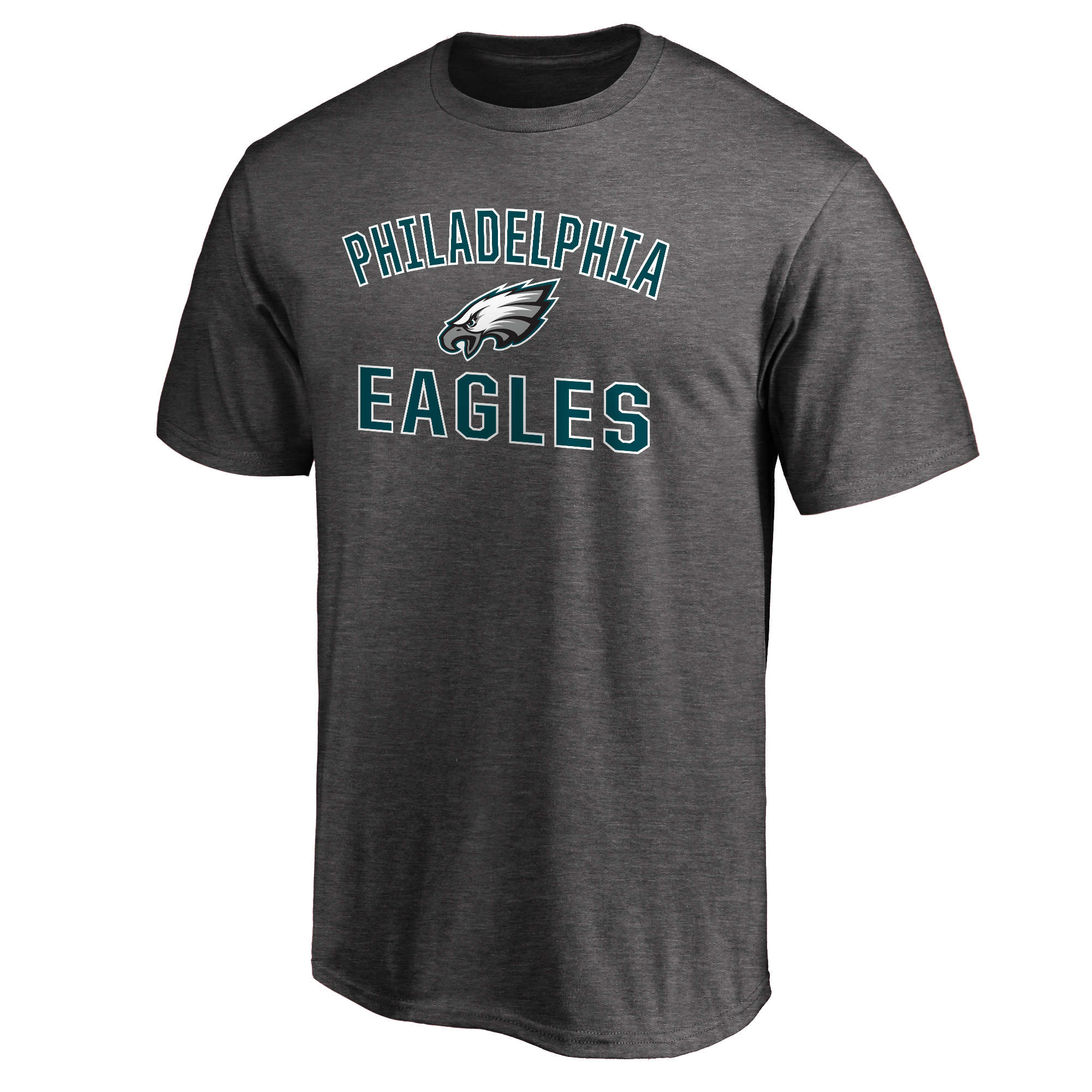 Philadelphia Eagles NFL Pro Line Victory Arch T-Shirt - Gray