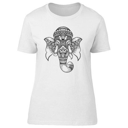 Lord Ganesha Elephant Ethnic Tee Men's -Image by
