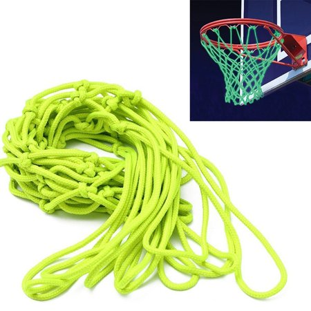 ETCBUYS Glow in The Dark Basketball Net - Outdoor Net and Basketball Hoop Accessories, Standard Regulation Size for Outside Basketball Rims, Kids Backboard and Rim - Glow In Dark Accessories