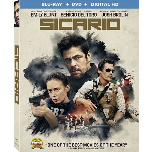 Sicario (Blu-ray + DVD + Digital HD)
