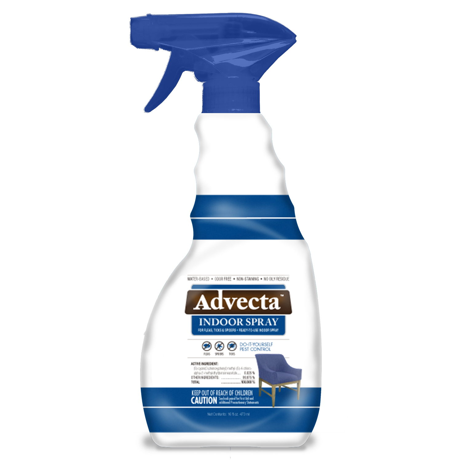 Advecta Indoor Fleas, Ticks, and Spiders Control Spray by PETIQ