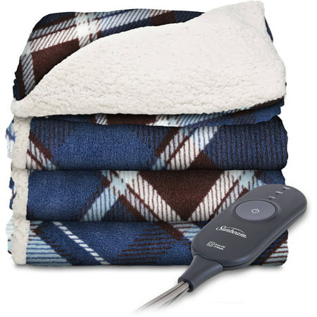 Sunbeam Sherpa Microplush 50 Quot X 60 Quot Electric Heated Throw
