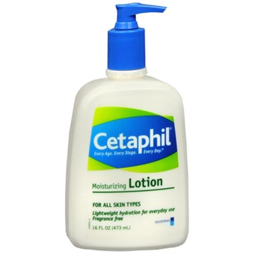 Cetaphil Moisturizing Lotion for All Skin Types 16 oz (Pack of 4)