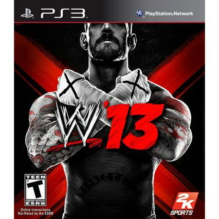 2K SPORTS WWE '13 (Playstation 3)