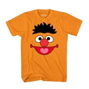 4480844f Sesame Street Ernie Face Tee Funny Humor Pun Adult Mens Graphic T-Shirt  Apparel