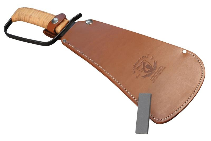 Woodmans Pal Military Machete   Treated Leather Sheath   Stone and Free Gift by Woodmans Pal