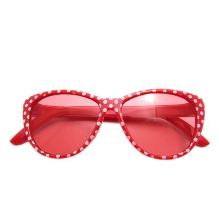 My Brittany's RED POLKA DOT GLASSES FoR AMERICAN GIRL (Big Glasses Girl)