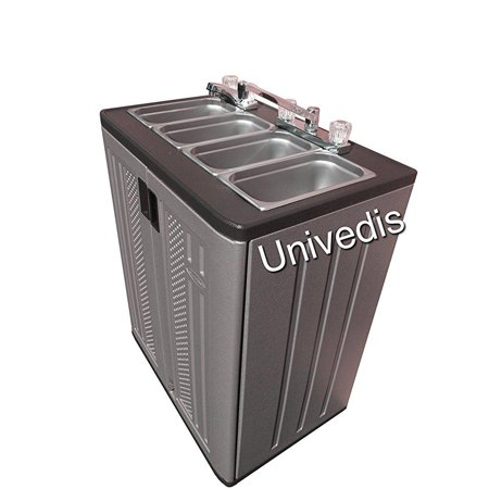 Portable  sink self contained triple sink plus hand-wash (Premier One Portable Sink)