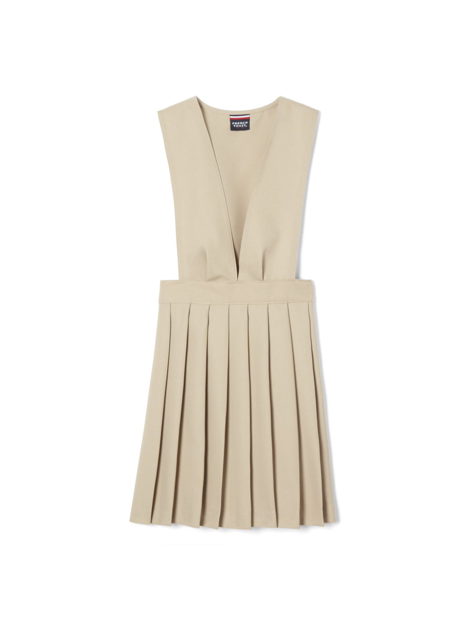 French Toast Girls Belted 2-Pleat Jumper