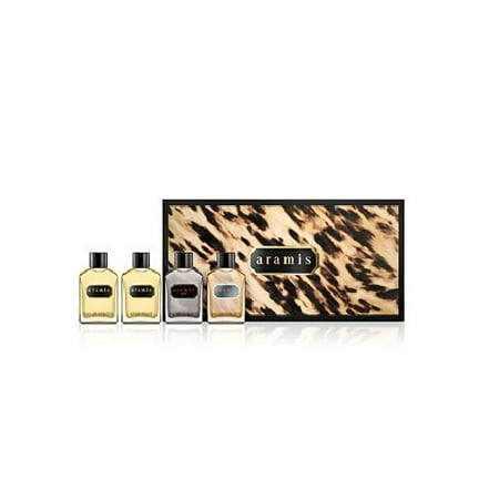 ARAMIS 4 piece 0.24 edt & after shave SET voyager classic black Mens Cologne NIB