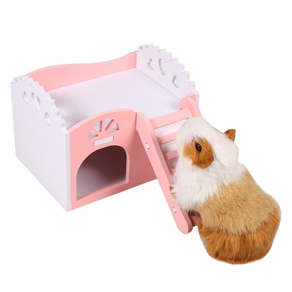 Admirable Sonew 3Colors Pet Hamster Rat Small Animal Castle Sleeping House Nest Exercise Toy Guinea Pig House Hamster Nest Toy Home Interior And Landscaping Ologienasavecom