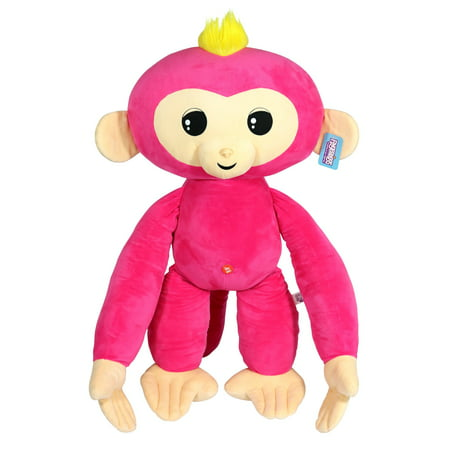 Jumbo Monkey - Jumbo Fingerling - Bella - Friendly Cuddly Plush Monkey, 27