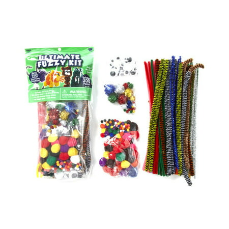 Kids Craft New Ultimate Fuzzy Kit Set, 1 Each - New Year Crafts