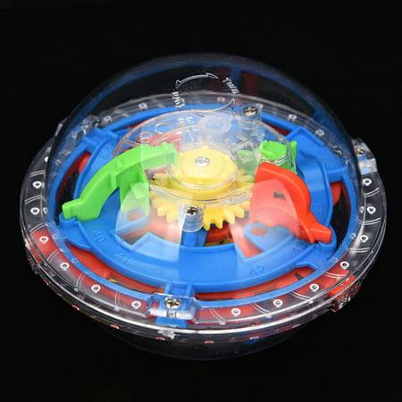 Mosunx 75 Barriers 3D Labyrinth Magic Intellect Ball Balance Maze Perplexus Puzzle Toy](Perplexus Twist)