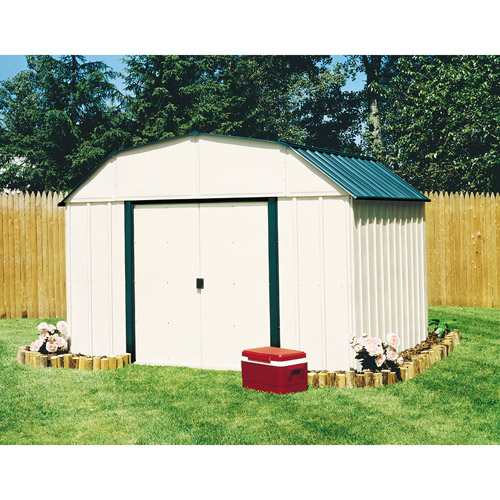 Arrow Viny Sheridan 10' x 14' Steel Storage Shed