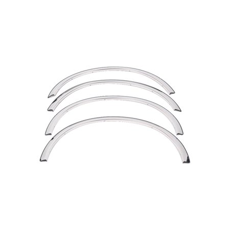 Motorcycle Front Fender Trim - Putco 97265 Fender Trim For Ford F-150, Polished Full design