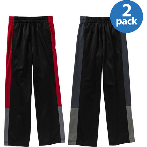 Starter Boys' Tricot Pants 2 Pack Value Bundle