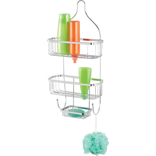 Bath Bliss Shower Caddy, Chrome/Prince