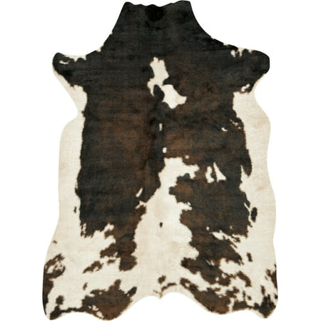 Loloi II Grand Canyon Faux Cowhide Beige / Brown Area Rug