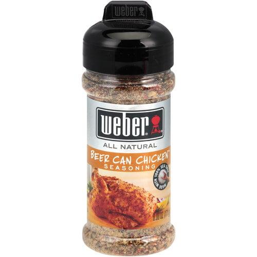Weber Beer Can Chicken Seasoning, 6 oz