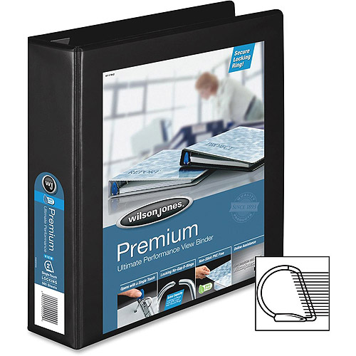 Acco/Wilson Jones Ultra Duty D-Ring View Binder