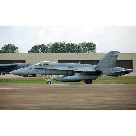 Glow Run Coupon Code (LAMINATED POSTER Finnish Air Force F-18C Hornet (code HN-450) starts its takeoff run at the 2009 Royal International Poster Print 24 x)