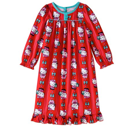 Hello Kitty Toddler Girls' Granny Sleep Gown
