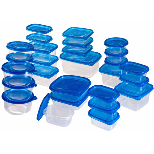 Food Storage Container Set with Air Tight Lids, 54-Piece