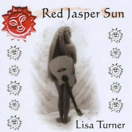 Jasper Disc - Red Jasper Sun