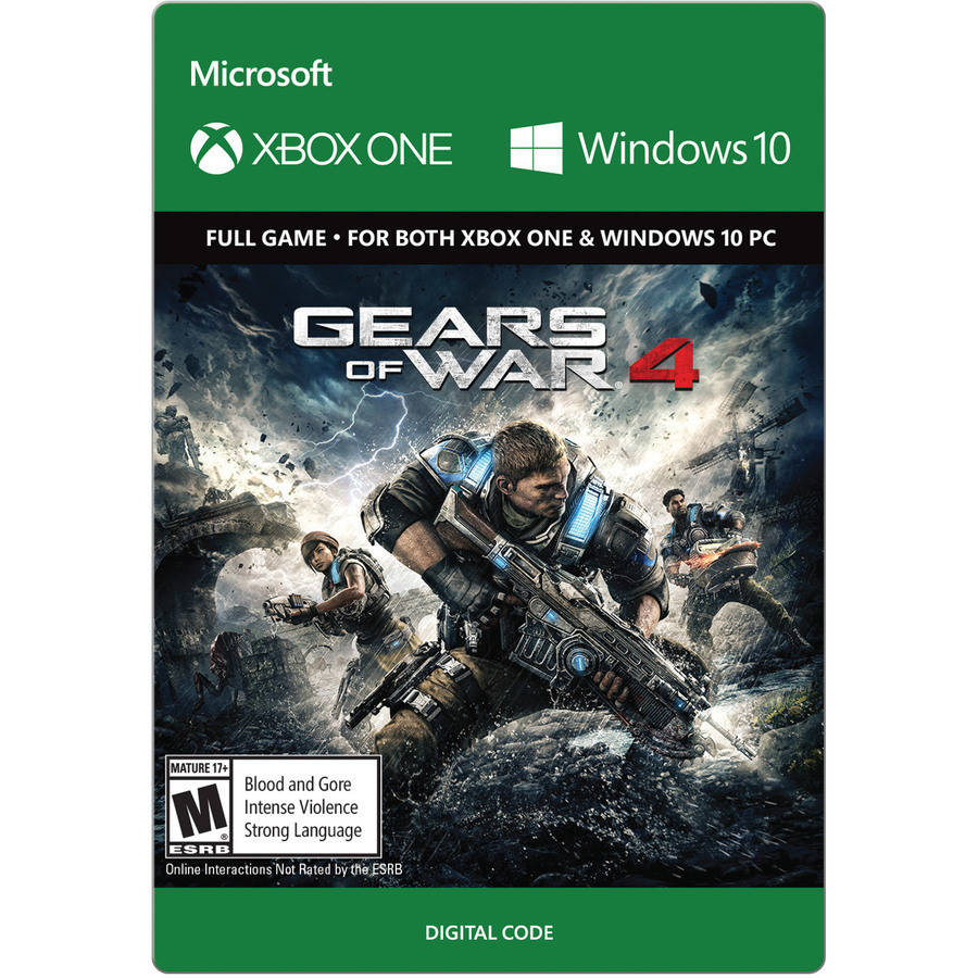 Gears of War 4 Standard Edition, Microsoft, Xbox One (Email Delivery)
