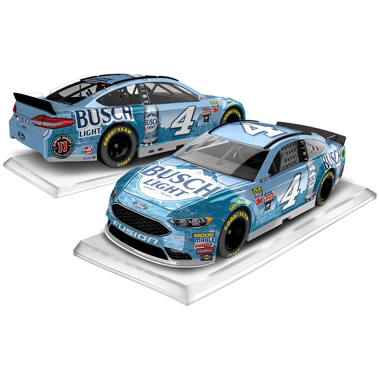 Lionel Racing Kevin Harvick #4 Busch Light 2017 Ford Fusion 1:64th Hard-Top Official... by Lionel Racing