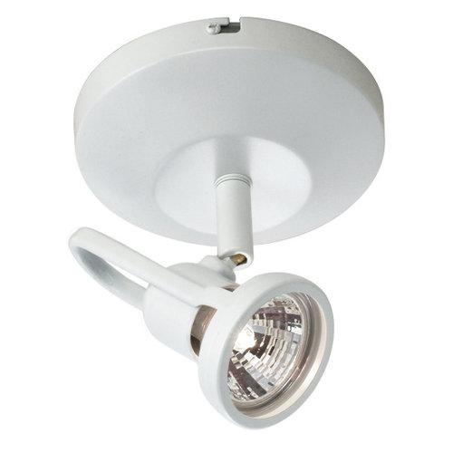 WAC Lighting 50W MR16 Low Voltage Surface Mount Spot White Lighting Fixture