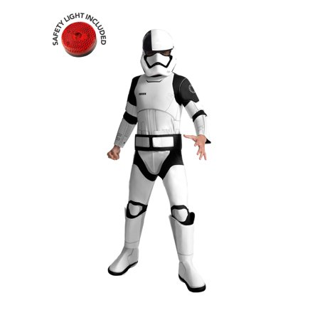 Star Wars Stormtroopers Costumes (Star Wars Deluxe Stormtrooper Costume Kit With Safety Light - Kids)