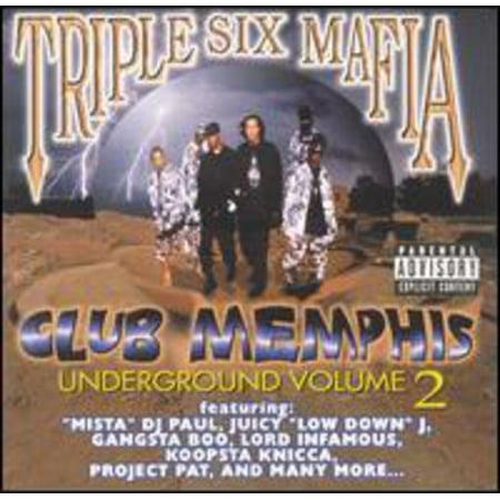 Club Memphis Underground Vol.2 (Underground Hip Hop Instrumentals)