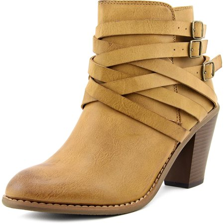 Restricted - Restricted Nanno Women Round Toe Leather Ankle Boot ... 8e38aff447
