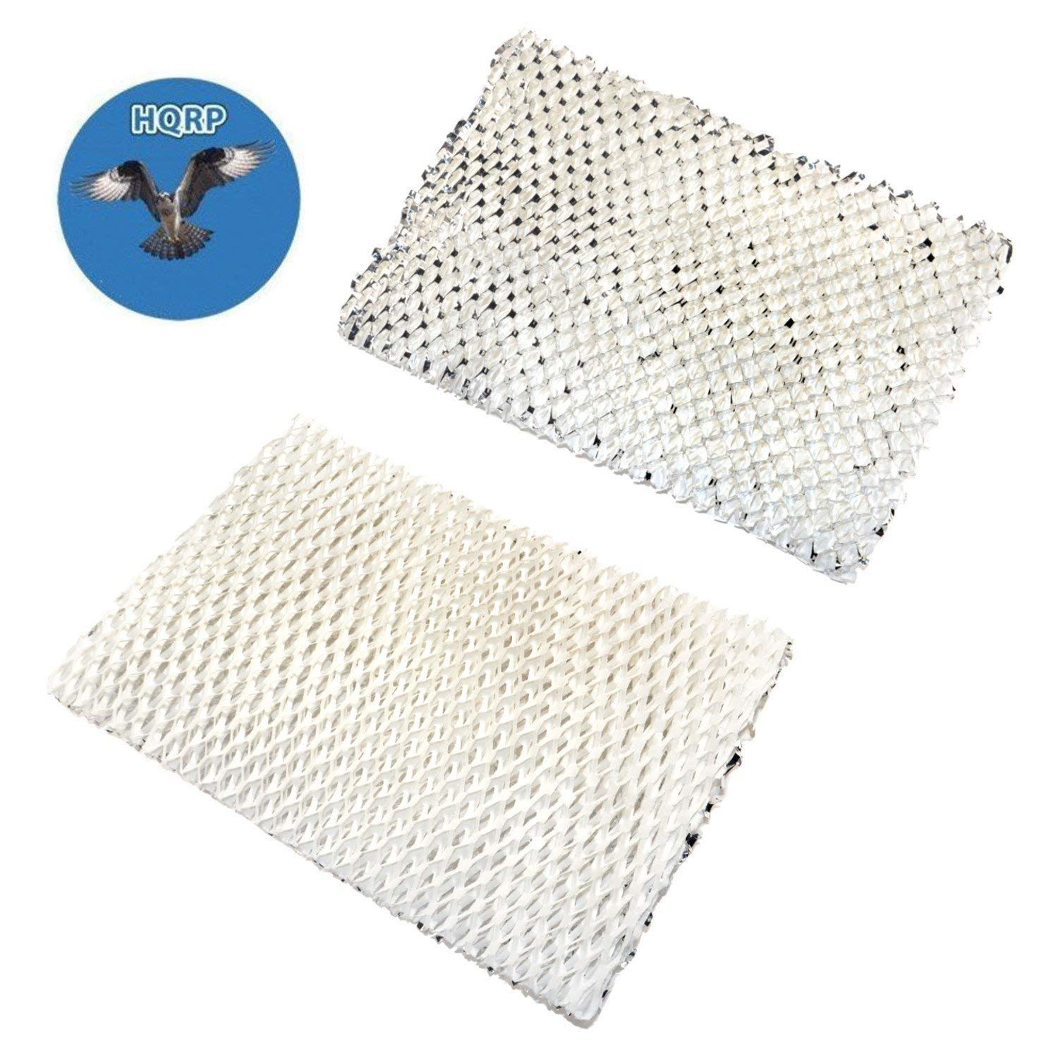 HQRP 2-pack Wick Filter for WEB Humidifying Floor Vent Register plus HQRP Coaster
