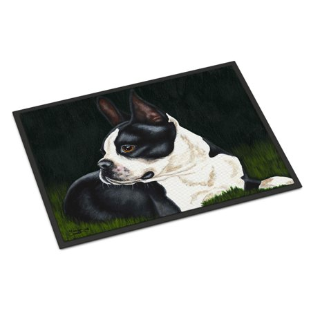 Boston Terrier Beauty Door Mat (Boston Terrier Door Mat)