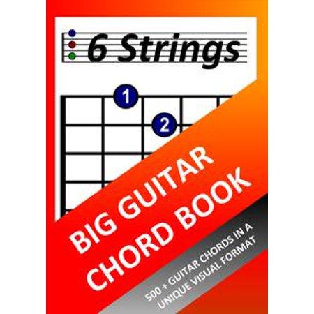 Big Man Big Guitar (Big Guitar Chord Book - eBook )