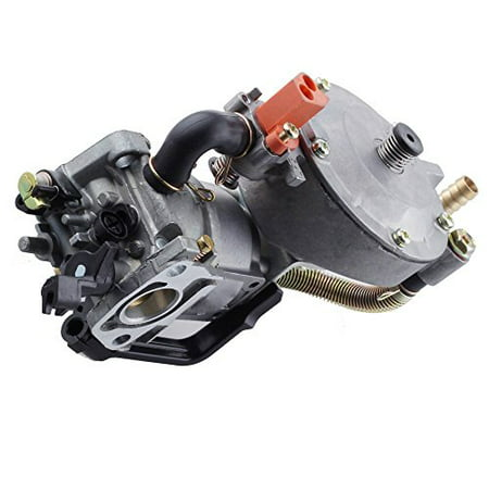 Lumix GC Manual Choke Dual Fuel Carburetor LPG NG Conversion Kit 2KW For Honda GX200 Engine Motor Generator 6.5HP -