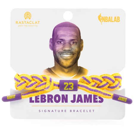 Nba Indiana Pacers Bracelet - LeBron James Los Angeles Lakers Rastaclat 2018-19 Player Bracelet - No Size