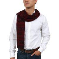 e88e584276a01 Product Image Roberto Cavalli ESZ068 02000 Red Wool Blend Signature Mens  Scarf