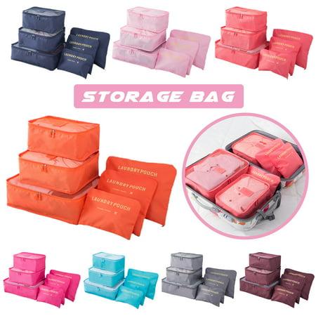 6 PCS Per Set Waterproof Underwear Storage Bag