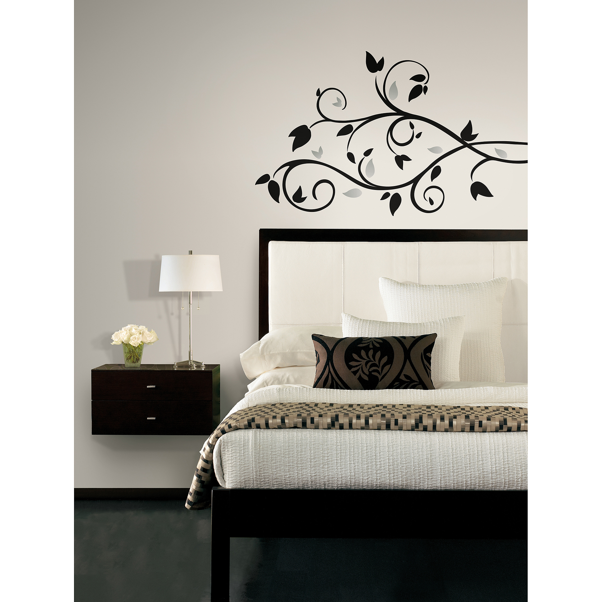 Charmant RoomMates Foil Tree Branch Peel And Stick Wall Decal   Walmart.com