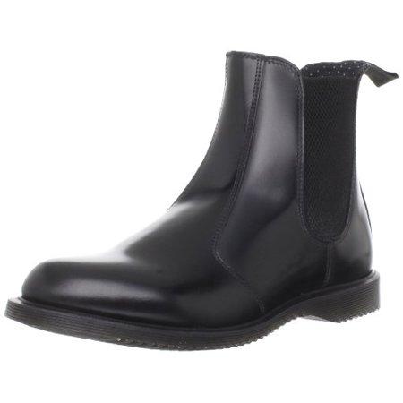 DR. MARTENS WOMENS Flora Chelsea Boots Black Size 11US 9UK