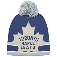 Product Image Toronto Maple Leafs CCM Oversized Cuffed Knit Hat - Blue -  OSFA 0baf9fe719ee