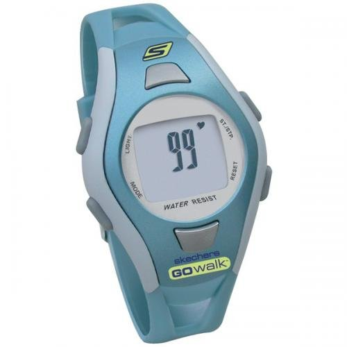 Skechers Go Walk Sk4 Strapless Heart Rate Monitor Fitwatch With Pedometer & Calorie Counter (ladies')