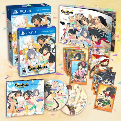 Senran Kagura Estival Versus:endless Summer Edition (Crave Entertainment)